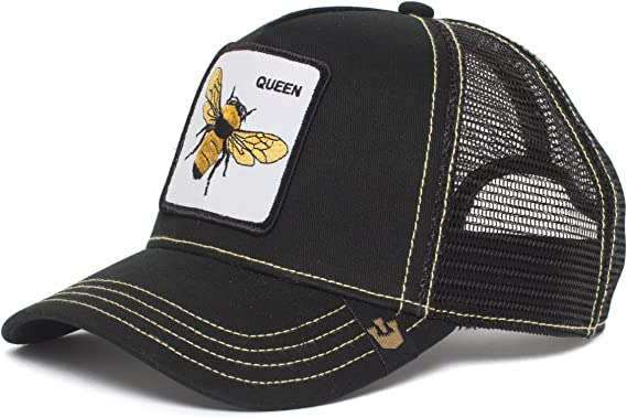 Classic Mesh Back Trucker Hat for Unisex Mens and Womens 100/% Polyester Funny Fly Sloth Mesh Hat