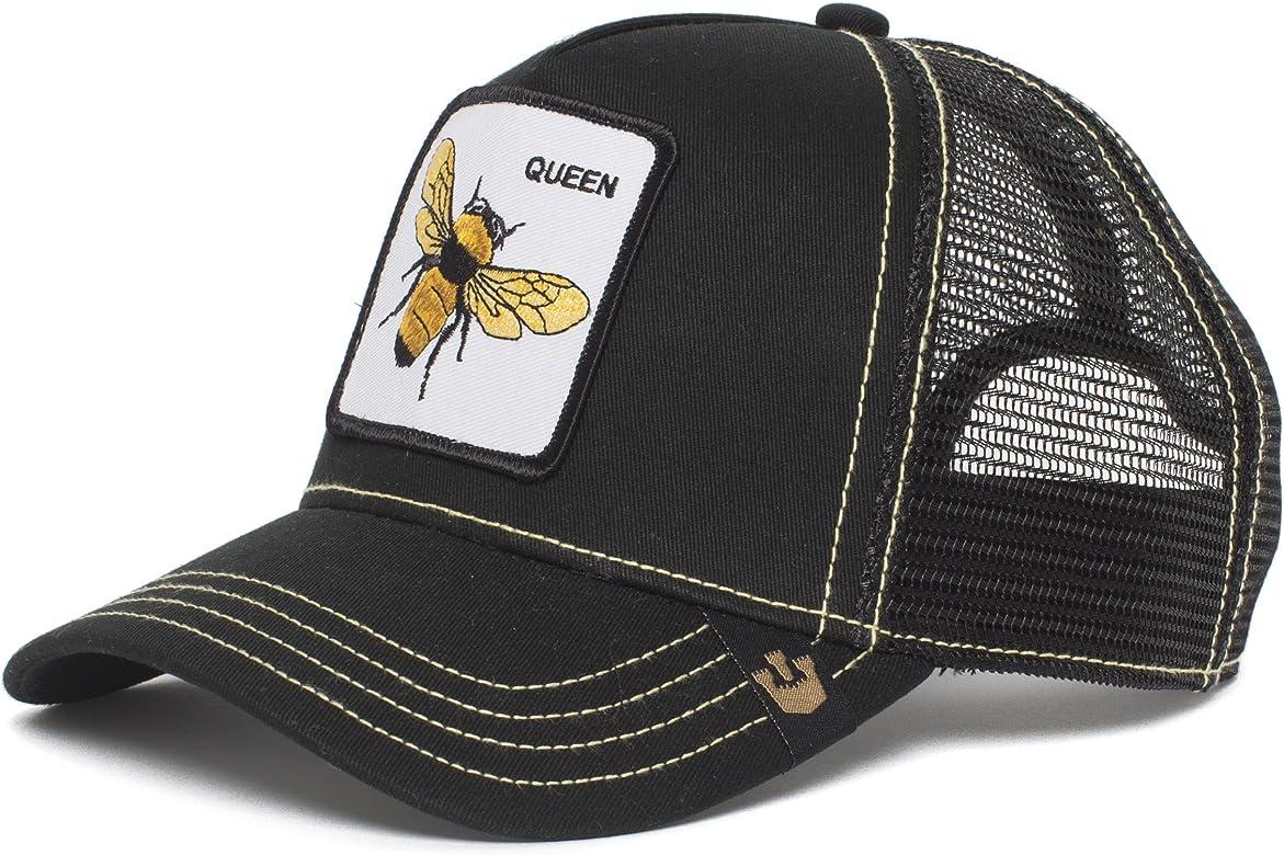 Gorra trucker negra abeja Queen Bee de Goorin Bros. - Negro, Talla ...