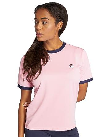 323d1e78f649 Fila Women T-Shirts Olivia Pink XS: Amazon.co.uk: Clothing