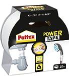 Pattex Adhésifs Réparation Power Tape Blanc Etui 10 m
