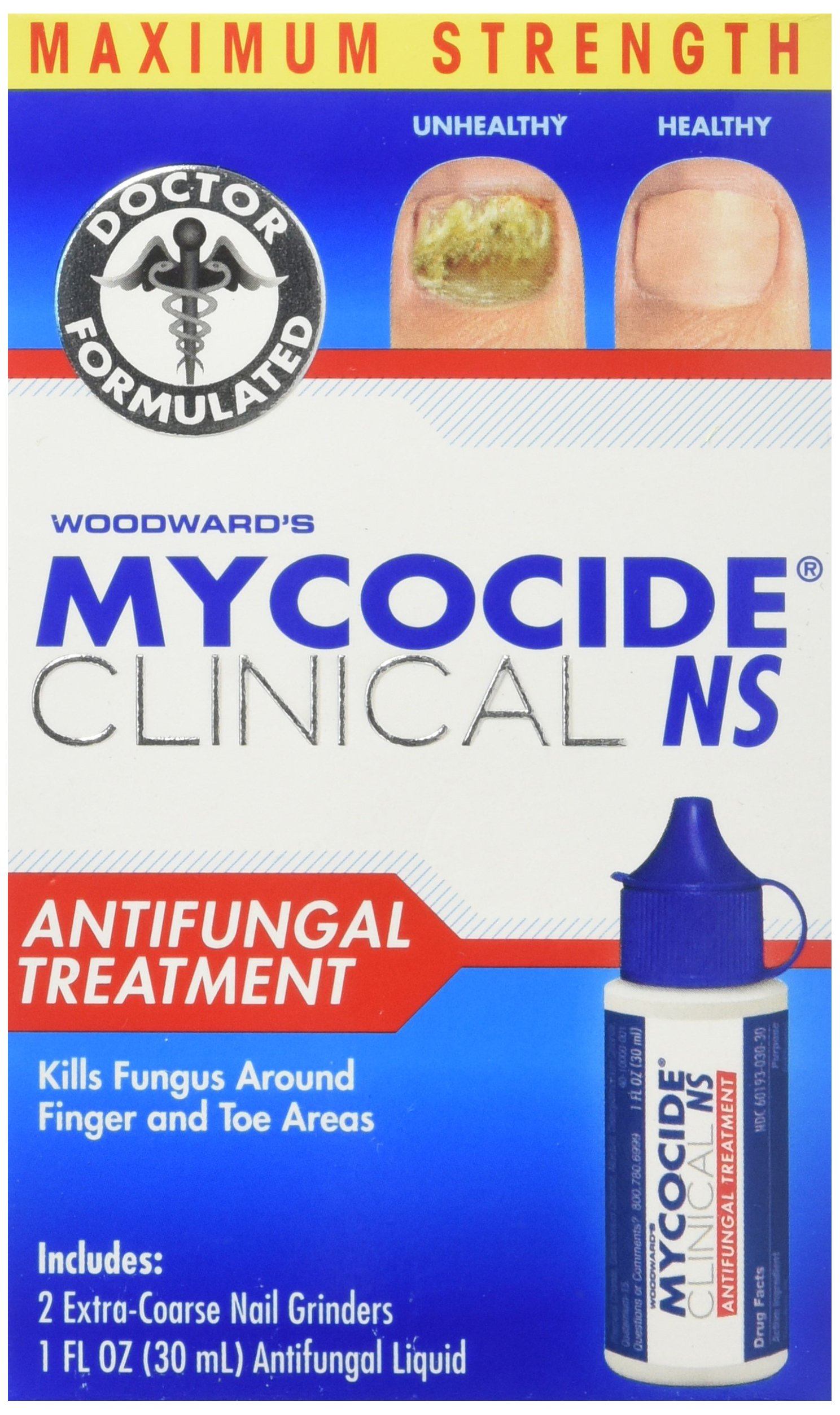 Woodward's Mycocide NS Antifungal Care Kit, 1 Ounce
