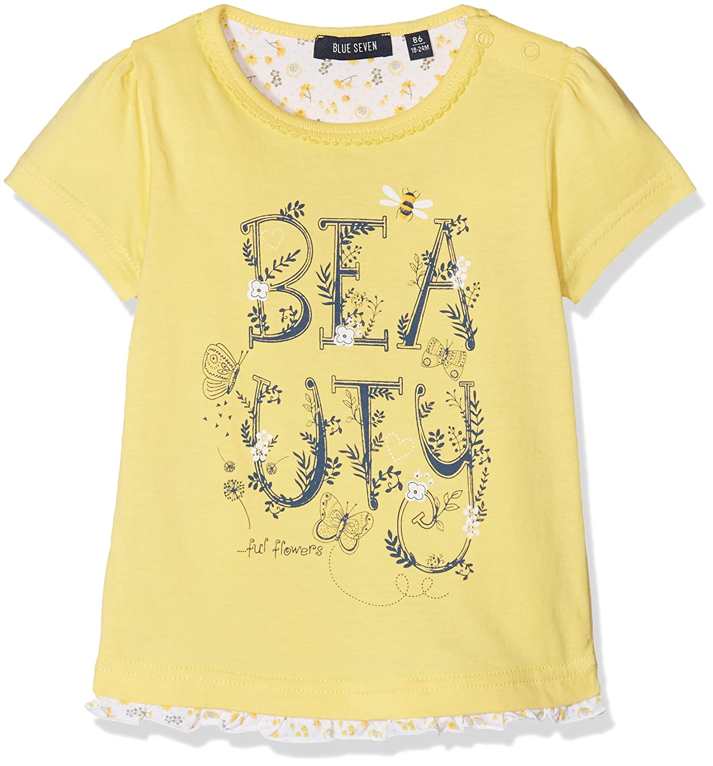 Blue Seven Baby Girls' T-Shirt Rh 901049 X