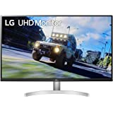 LG 32UN500-W 32 Inch UHD (3840 x 2160) VA Display with AMD FreeSync, DCI-P3 90% Color Gamut, HDR10 Compatibility, and 3…