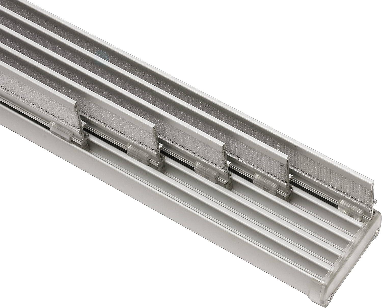 Gardinia Panneau Japonais Kit Complet Rail A 5 Voies Aluminium