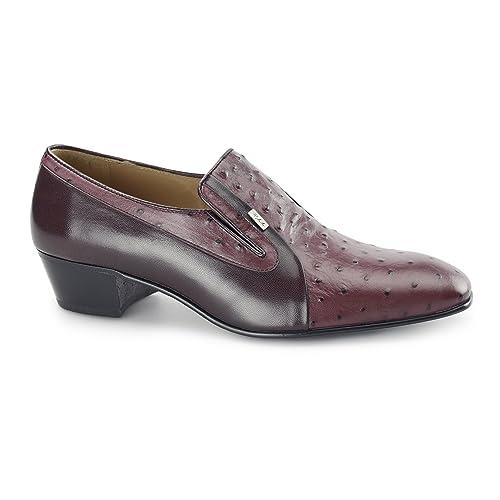diseño exquisito lindo baratas rendimiento superior Paco Milan Texas para hombre con tacón cubano zapatos de ...