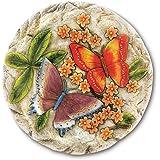Gifts & Decor Butterfly Flower Garden Stepping Stone
