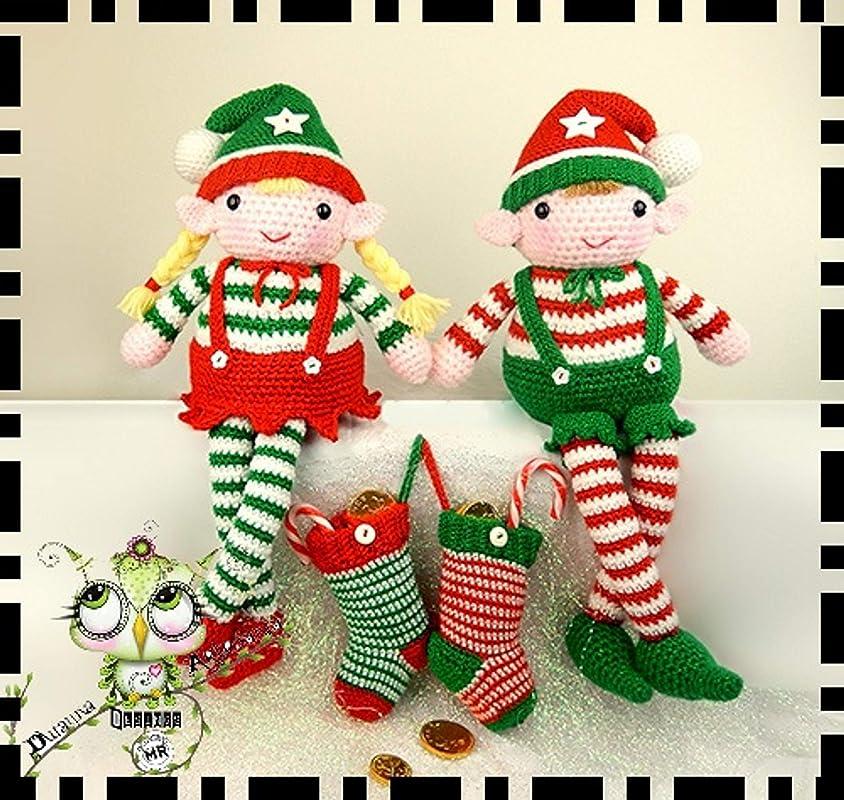 Duendes | Christmas crochet, Crochet xmas | 800x844