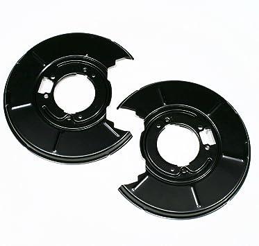2 X Spritzbleche Ankerbleche Deckbleche Links Rechts Für Hinten Für Die Hinterachse Auto