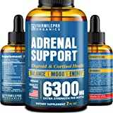 Adrenal Support - Adrenal Cortex & Cortisol Manager - Thyroid Support & Adrenal Fatigue Supplement - Made in USA - Cortisol S