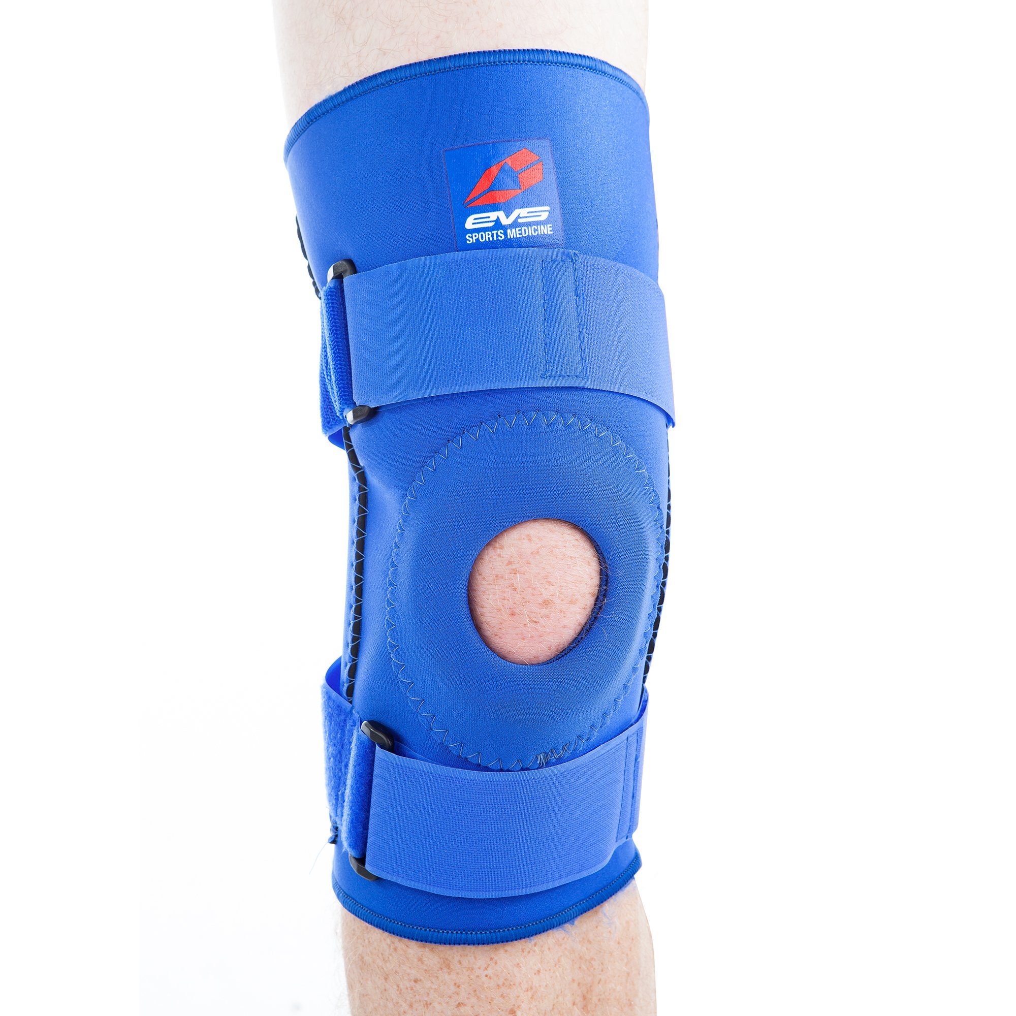 EVS Sports Unisex-Adult Neoprene Knee Stabilizer (Blue, X-Large)