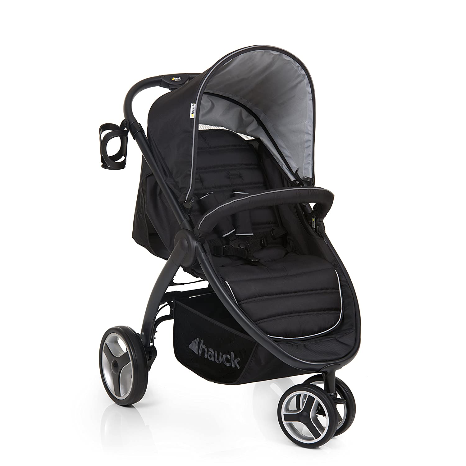 Hauck Lift-Up Three Easyfold Pushchair - Black H-14815