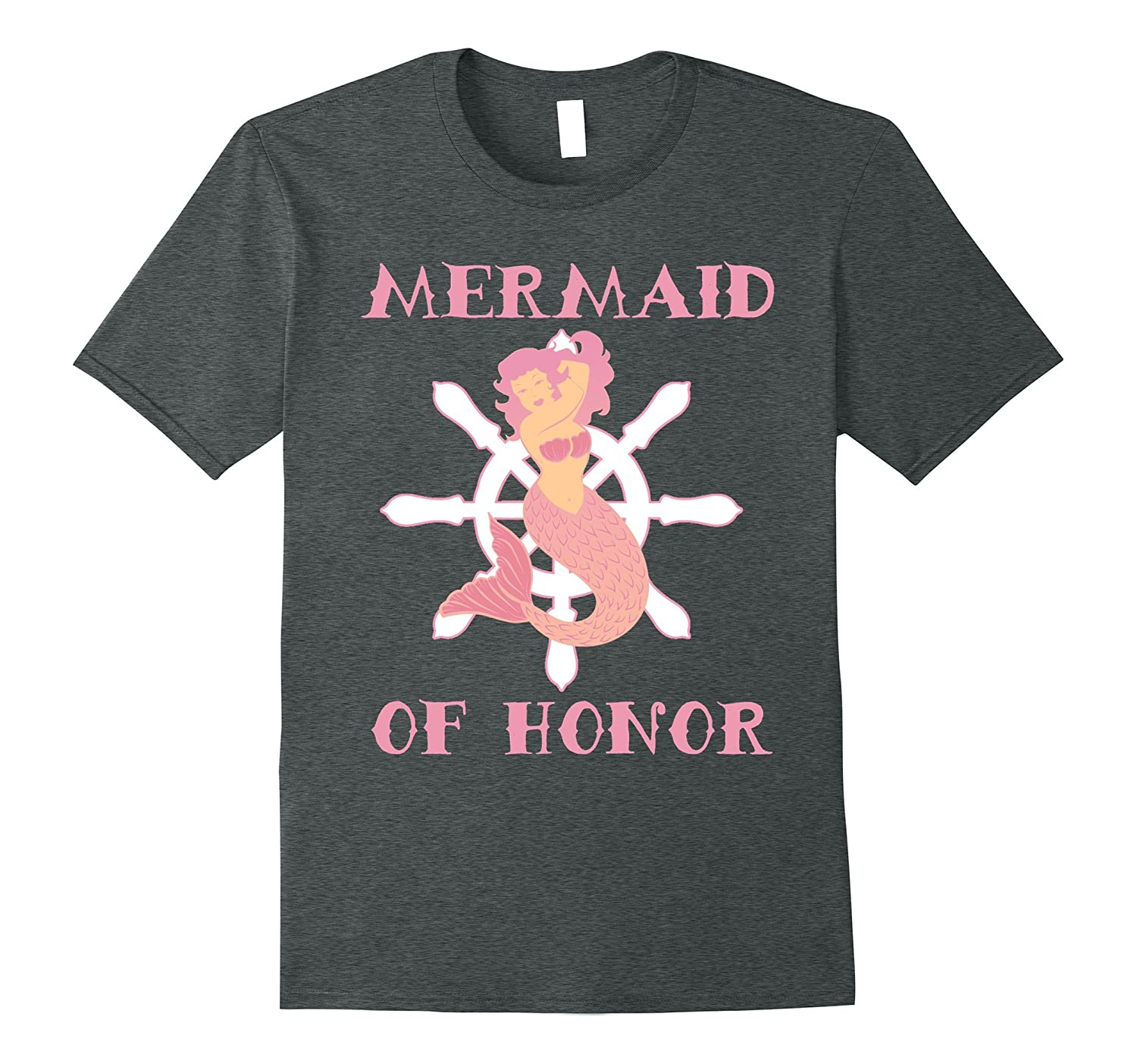 0964affd8 Mermaid Graphic Tee Women Bridal Party Maid of Honor Shirt-TJ – theteejob