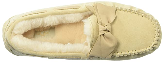 4af35ad9415 UGG Women's Dakota Leather Bow Slipper