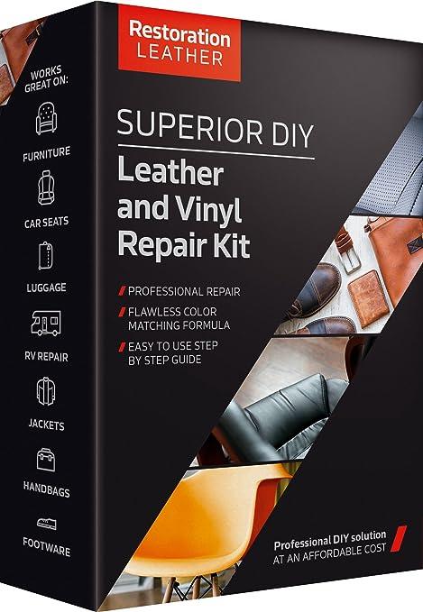 Amazon.com: Superior Leather and Vinyl Repair and Restoration Kit ...