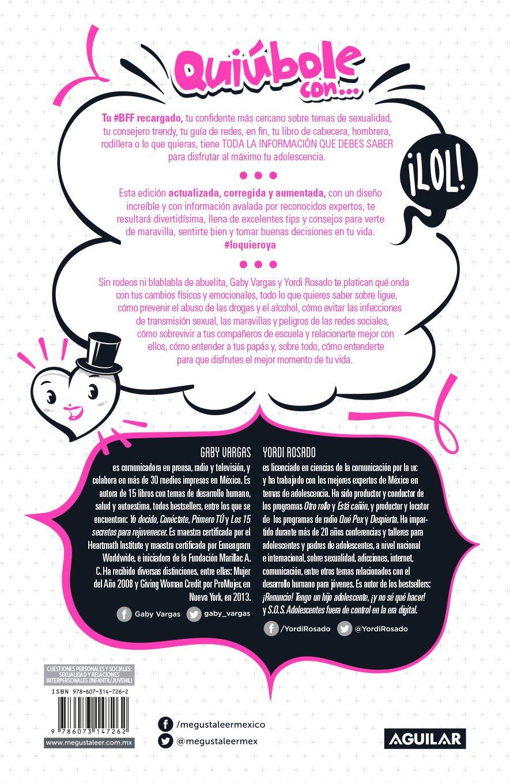 Quiúbole con... para mujeres (Ed. Aniversario) (Spanish Edition): Yordi Rosado, Gaby Vargas: 9786073147262: Amazon.com: Books