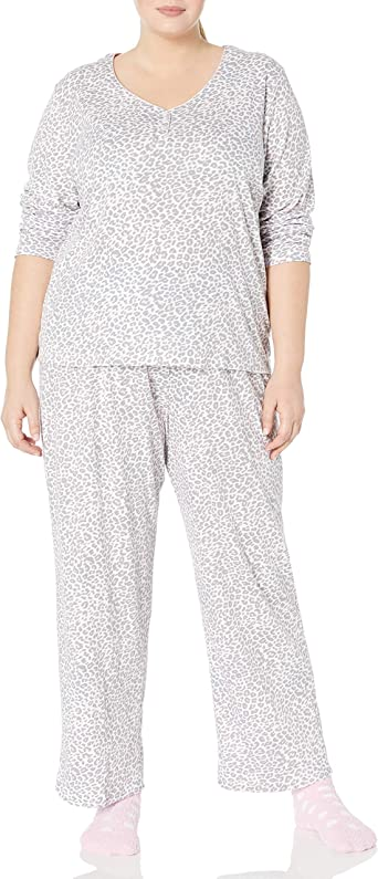 Karen Neuburger Womens Pajamas 3//4 Sleeve Cardigan Long Sleeve Pj Set Pajama Set