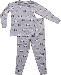 BESTAROO Toddler Raccoon Top and Pant Pajama