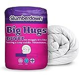 Slumberdown Big Hugs - Piumone, 13.5 Tog, Bianco, Doppio