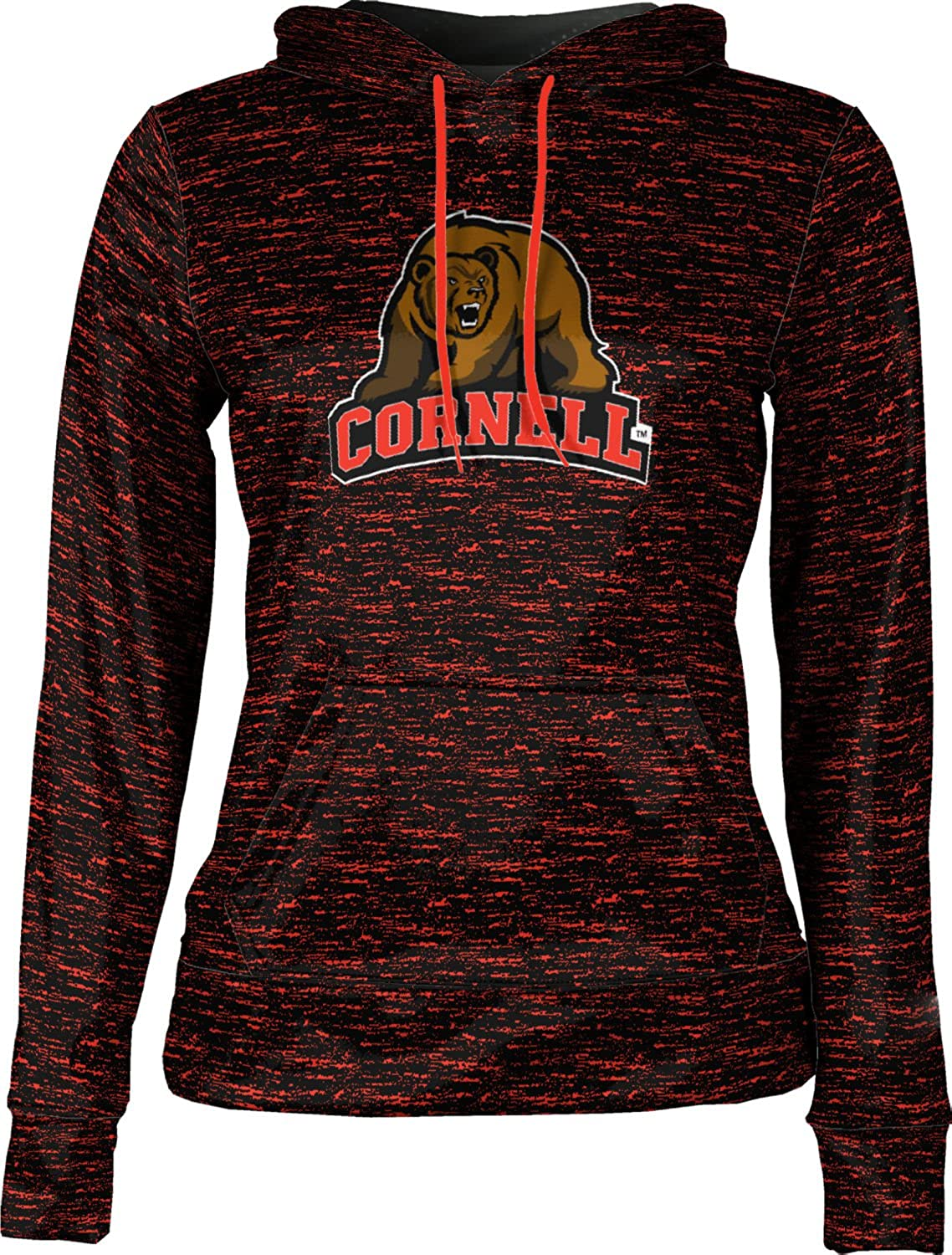Brushed Cornell University Girls Pullover Hoodie School Spirit Sweatshirt