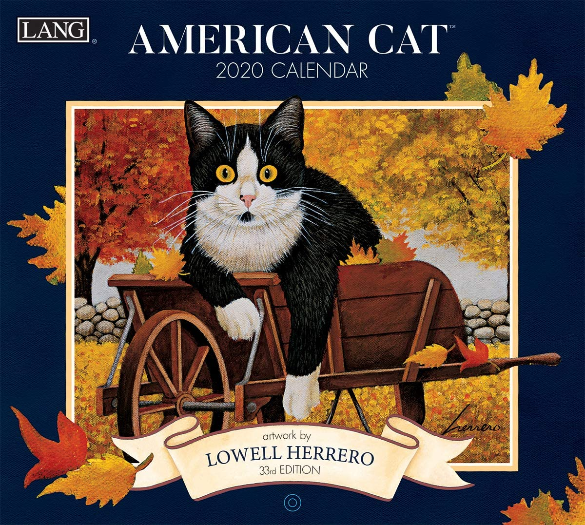 Lang American Cat 2020 Wall Calendar (20991001889)