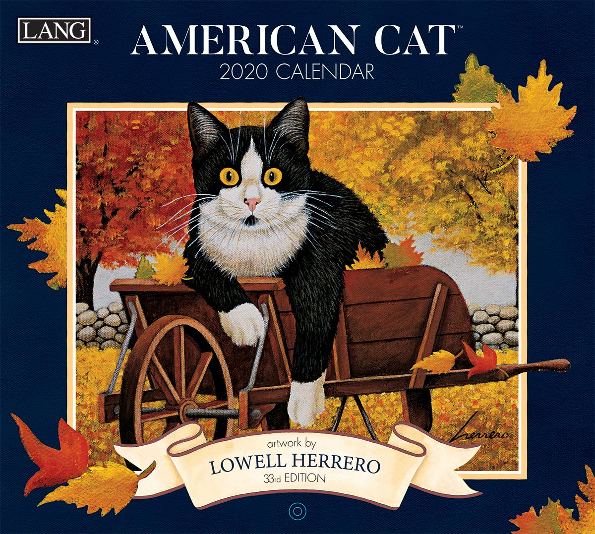 Lang American Cat 2020 Wall Calendar (20991001889) by The LANG Companies