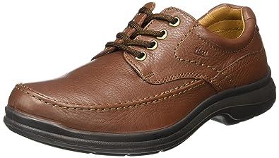 148c53d2991a flexi Scandic 68901 Men's Genuine Brown Leather Oxford   Comfort ...