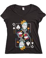 Ann Arbor T-shirt Co. Queen R.B.G. Funny Progressive Liberal Ruther Bader Ginsburg Women RBG T-Shirt