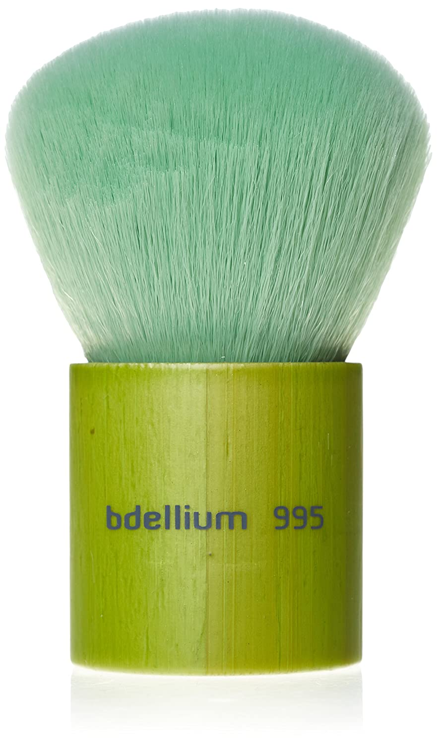 Bdellium Tools Professional Makeup Brush Green Bambu Series Kabuki 995, 1 Count BD-BAMBU-995