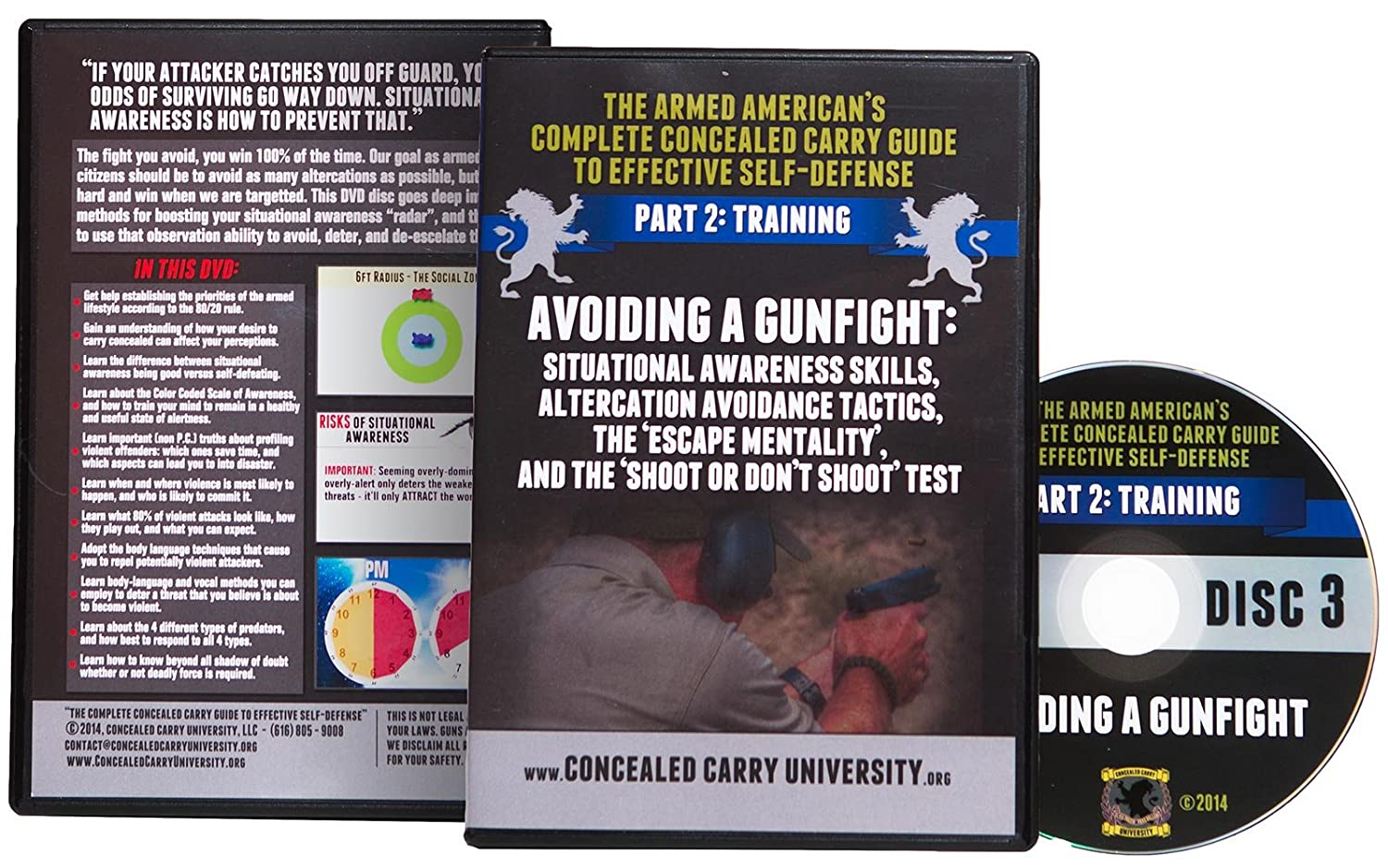 Amazon.com: The Armed American's Complete Concealed Carry Guide to  Effective Self-Defense: Concealed Carry University, Patrick Kilchermann:  Movies & TV