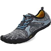 Zapatillas Barefoot de Trail Running Correr para Hombre Zapatillas de Deporte Exterior Interior Gris