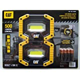 GENUINE CAT LED Worklights 500 Lumens 2 Pack Free Post Superfast Shipping!!
