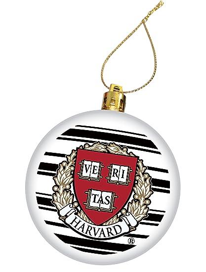 Harvard University Holiday Christmas Ornament, Design 4 - White - Amazon.com : Harvard University Holiday Christmas Ornament, Design 4