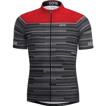 GORE WEAR Homme Maillot de Cyclisme à Manches Courtes Respirant ... 5780e2f6a