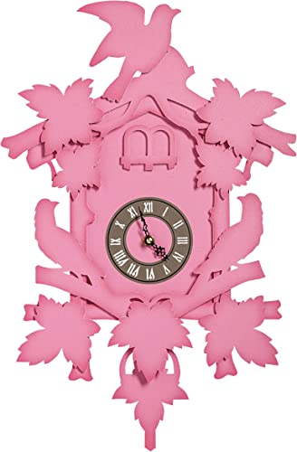 Fundeco Large Cuckoo Clock – Fushia