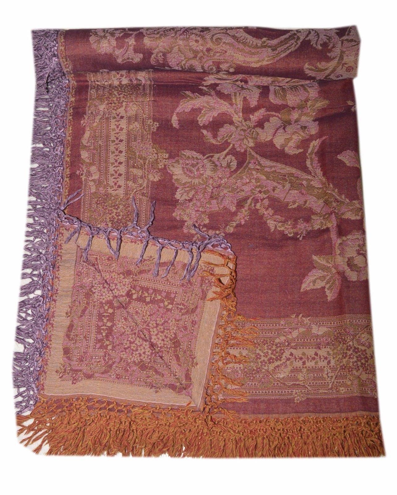 Blanket Throw Tree Of Life Bedspread Wool Indian Bedding Sofa Cover SL865