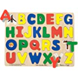 Melissa & Doug Large Wooden See Inside ABC Puzzle, 26-Piece