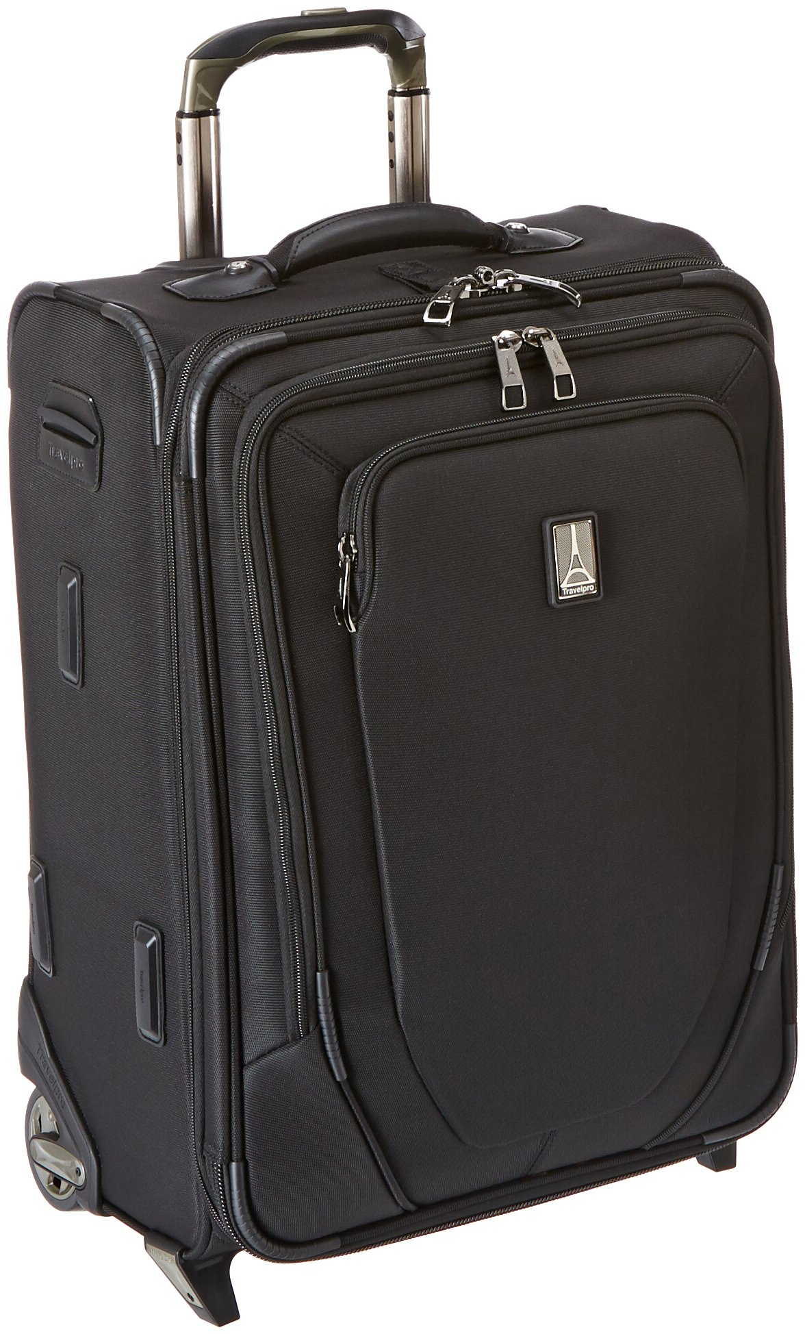 Travelpro Crew 10 20 '' Expandable Business Plus Rollaboard, Balck by Travelpro