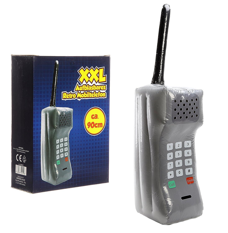 Bada Bing XXL hinchable Retro Teléfono Móvil con antena aprox. 90 ...