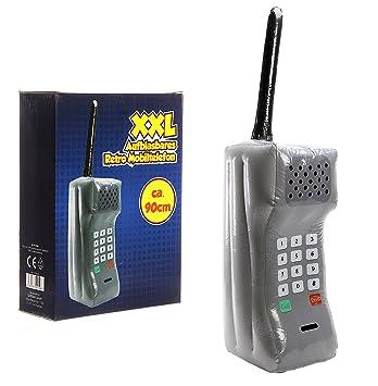 Bada Bing XXL hinchable Retro Teléfono Móvil con antena ...