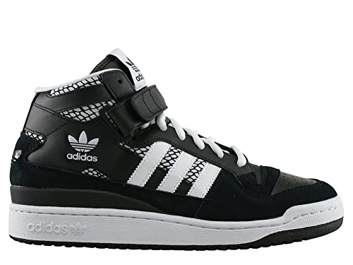 adidas Forum Mid RS - Zapatillas para Hombre, Color Negro/Blanco, Talla 37 1/3: Amazon.es: Zapatos y complementos
