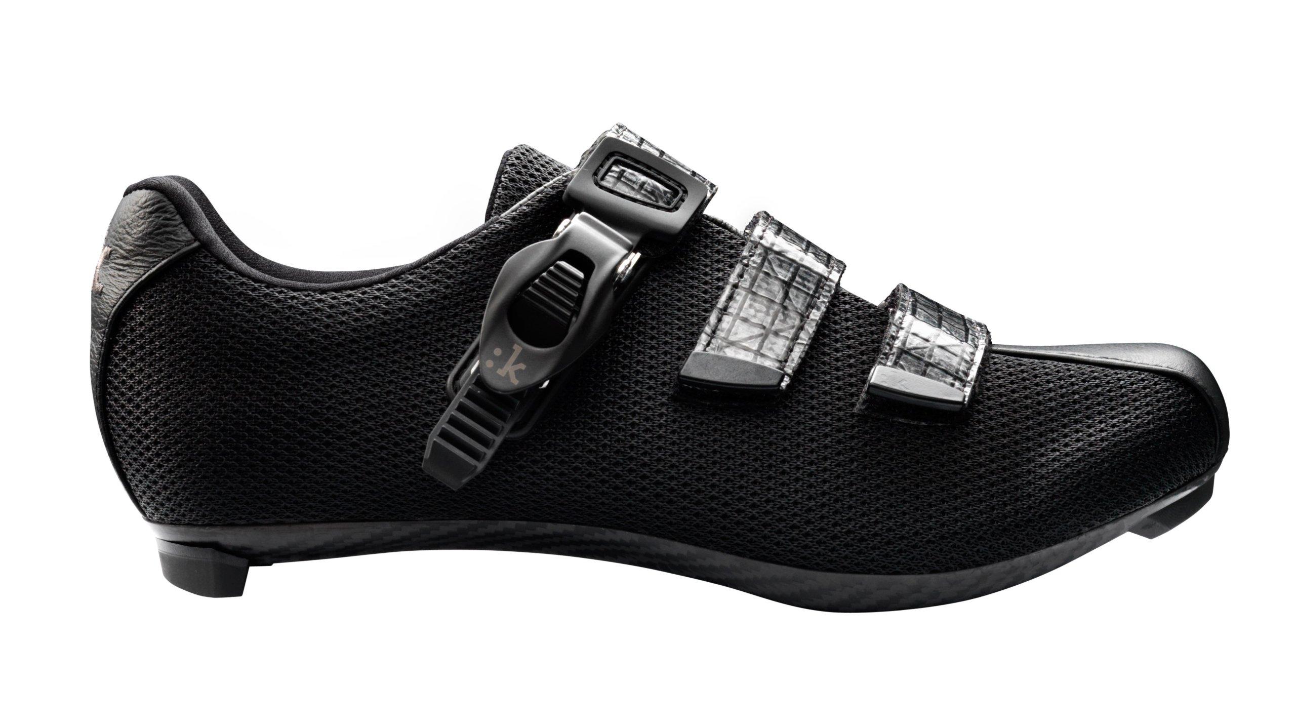 Fizik Women's R3 Donna Road Cycling Shoes, Black, Size 41.5