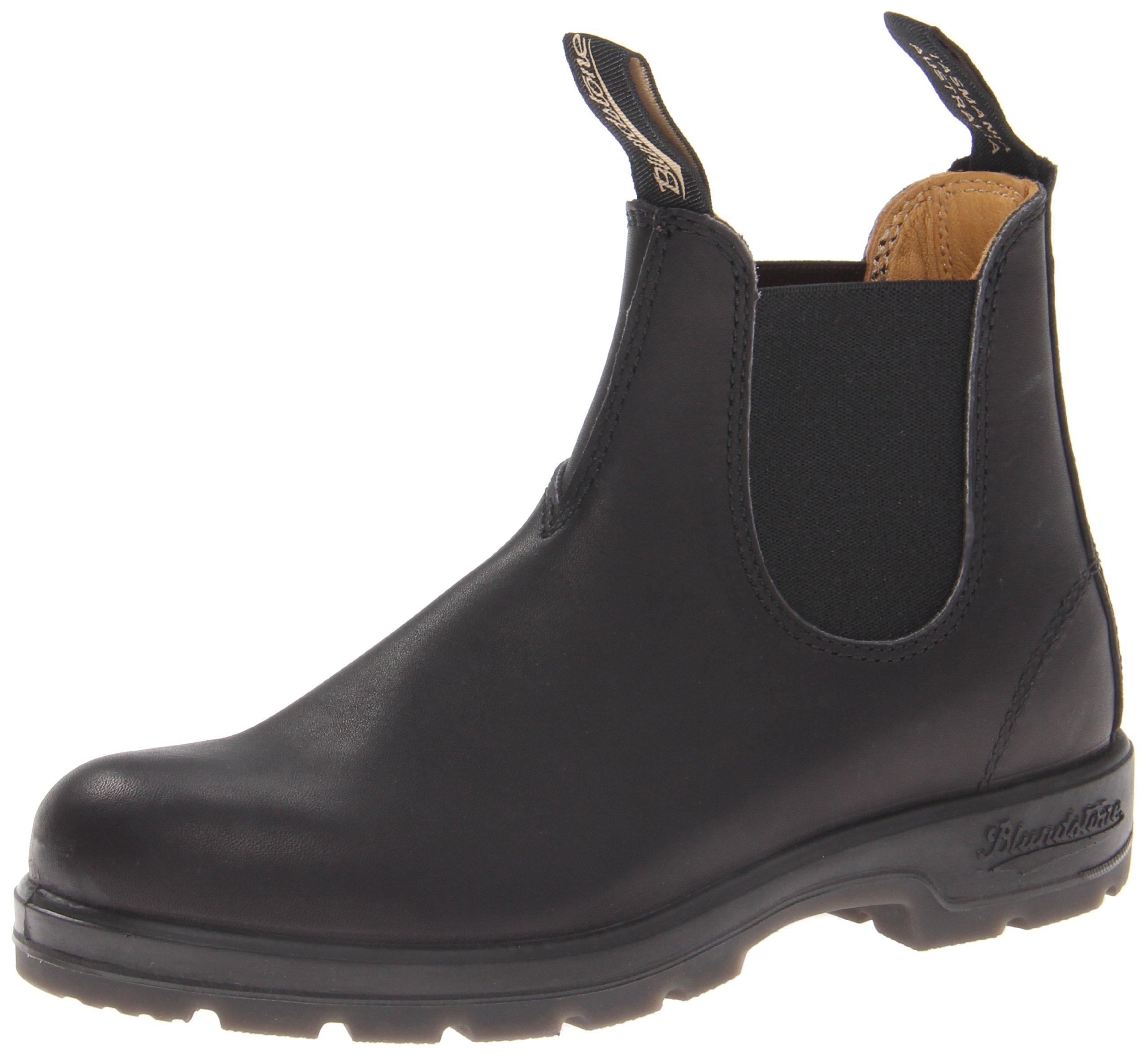 Blundstone Women's Blundstone 558 Black Boot,Black,3.5 AU (US Women's 6 M)