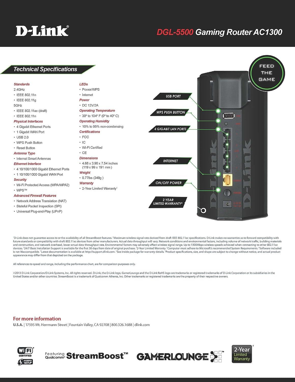 D-Link DGL-5500 Router Driver for Windows 7