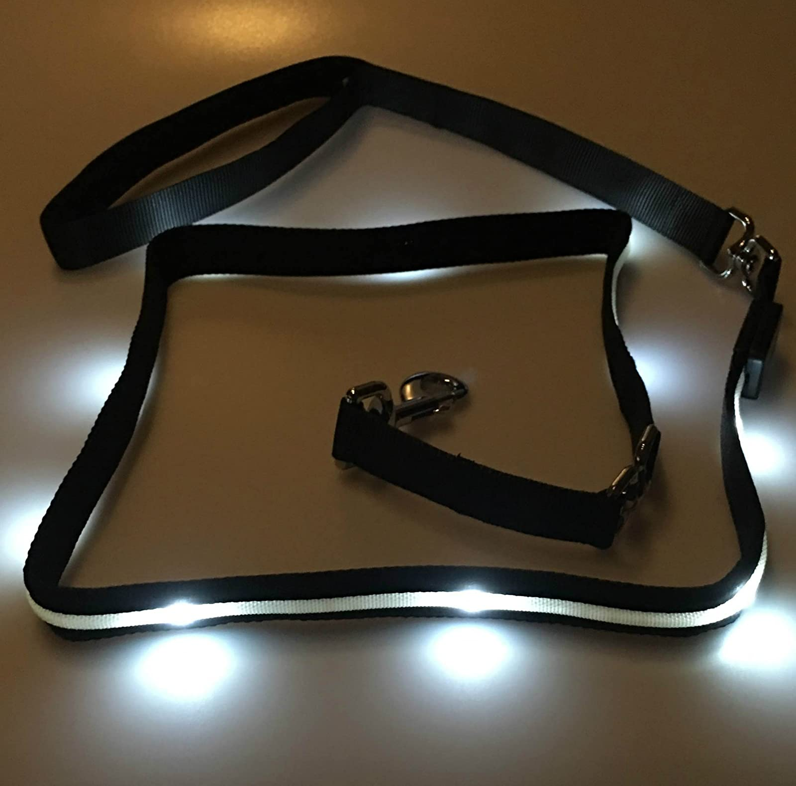 Blazin' Safety LED Dog Leash - USB Rechargeable - 6