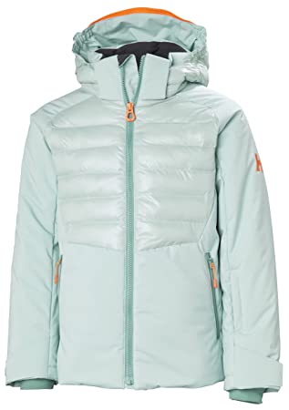 eedbfbbcf2 Helly Hansen Jr Snowstar Jacket Blue Haze 8 (Kids)  Amazon.co.uk ...