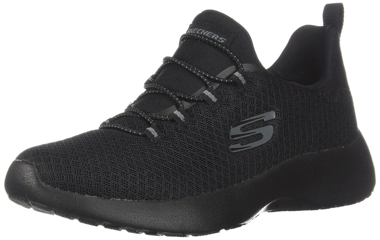 Skechers 12991/GYLP Dynamight-Break-Through Damen Sneaker Slipper Grau/Rosa  37.5 C/D EU|Schwarz