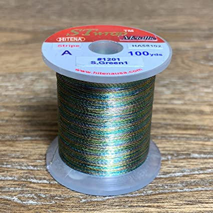Metallic Noble Winding Thread STWRAP Rod Wrapping Thread HITENA