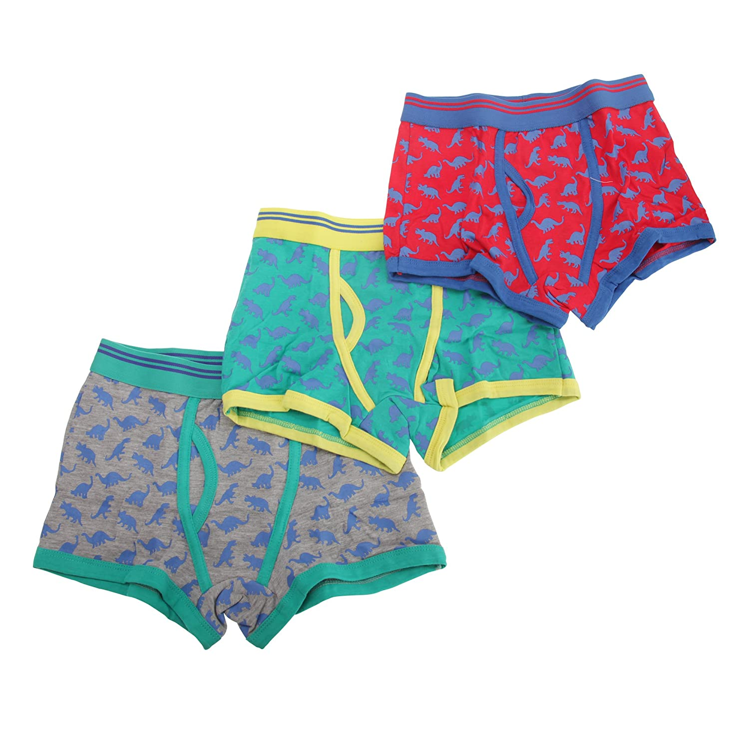 Universal Textiles Childrens/Boys Cotton Rich Trunk Fit Boxers (Pack of 3)