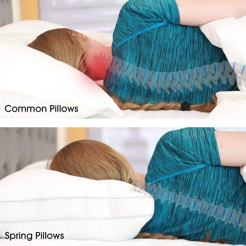 OXA Spring Bed Pillows Queen Breathable