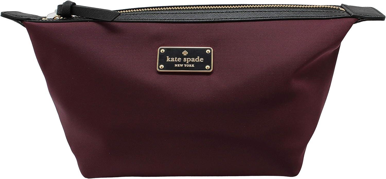 Kate Sapde New York Jodi Cosmetics Make-Up Clutch Bag Deepplum